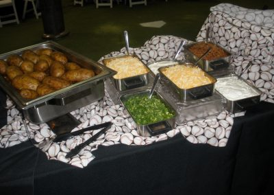 Baked Potato Station