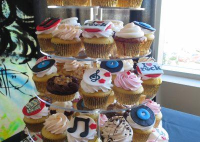 Rock-n-Roll Cupcakes